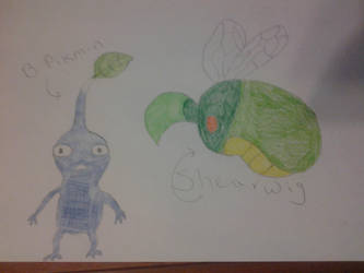 Just some pikmin stuffs by ngm1998