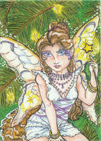 Winter Magic (ACEO) by Keyshe54