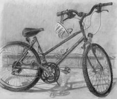 Old Bike by OlgaAndreyeva