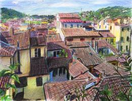 Rooftops by OlgaAndreyeva