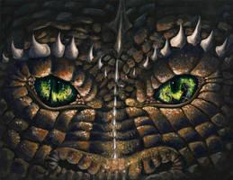 Eyes of the Dragon by OlgaAndreyeva
