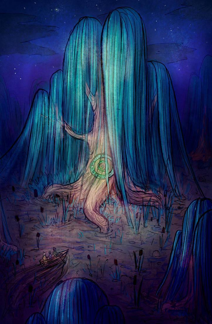 Under the Willow by OlgaAndreyeva