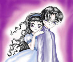 Eriol and Tomoyo by lisa-marie