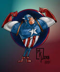 Cap Collab with Grimbro by MichaelWKellarINKS
