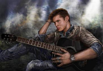 Jensen:Spin:Beautiful Disaster by egorowna