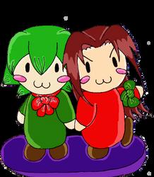 Christmas: Red and Green by Yukino-Asakura