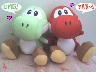 My loves: Red and Green by Yukino-Asakura