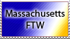Massachusetts Stamp by DP-Stamps