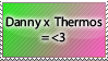 DannyxFenton Thermos by DP-Stamps