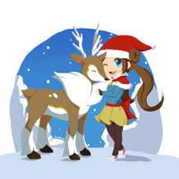 Pkmn: White Christmas by ozamham