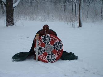 Viking shield by Wodansson