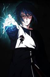 Uchiha Sasuke by ilyesgnei