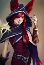 Xayah - Study/sketch by xKhaox