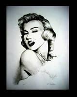 Marilyn Monroe by Yuuki28