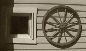 Wheel of window by Laurenthalas