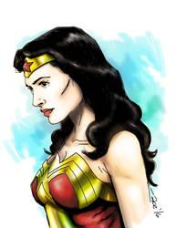 Wonder Woman #batmanvsuperman #dccomics by acenriquez
