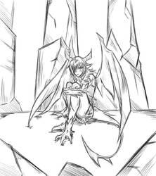 Sketch#118 Empty by ReiyuuSama