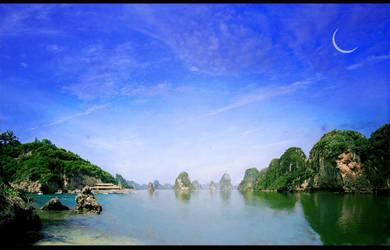 Blue Lagoon by Lareth