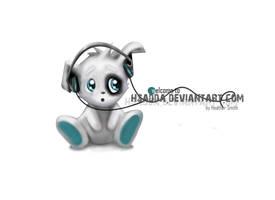 Mascott: cute puppy by hsadda