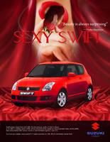 Ad 2: suzuki swift ad by hsadda