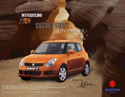 Ad 3: suzuki swift ad by hsadda