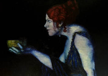 Tilla Durieux as circe by Blacksheep0