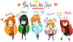Best Friend Art Online! 1 by asahishiranai