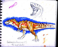 Carcharadontosaurusus. by Corysaur