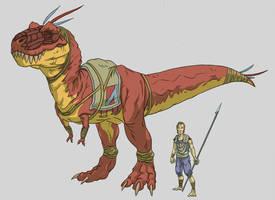 Saurian Grunt by Corysaur