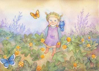 Little Anni by vastarantakettu