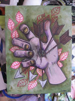 Three in the Hand by STERRY