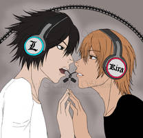 DEATH NOTE: Like A Magnet WIP by HEATHSHHH
