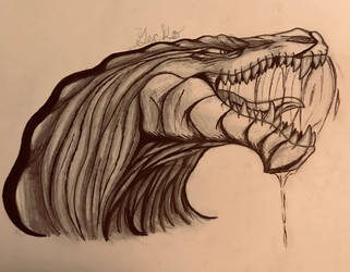 Drooling Dragon  by QuinoaGecko25