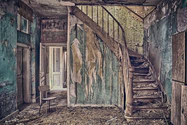 Underneath The Stairs by szydlak