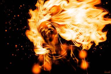 Fire Girl by RMelnikas