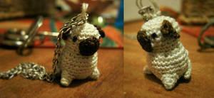 Mini-pug by inkiestuff