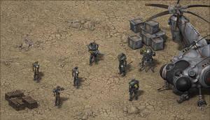 'Secret deal in the desert' by Red888guns
