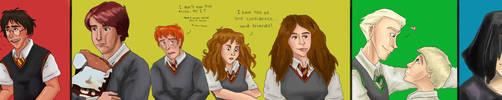 HP Musical Meets Novels by picklelova
