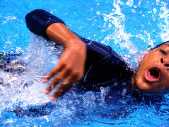 Swimming by KairaTheGreat