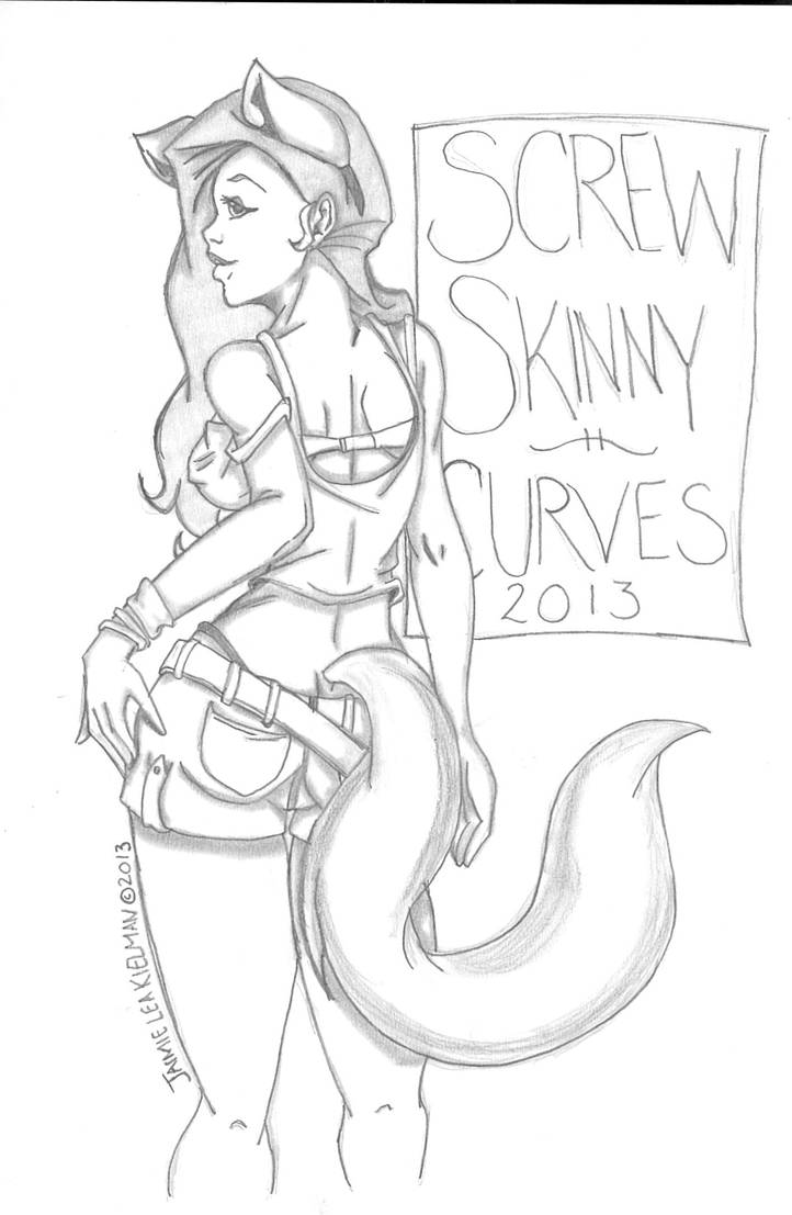 Fox Curves 2013 by Earth-Vixen