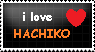 Hachiko Love stamp by ask-gorsepaw