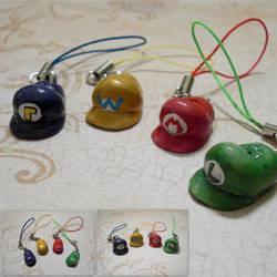 Nintendo Hats by GandaKris