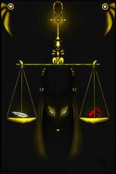 Weighing of the heart by Kodoku-Roxi