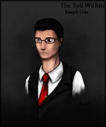 Joseph Oda portrait by Kodoku-Roxi