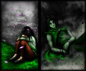 A bad ending. by Kodoku-Roxi