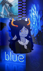Blue Aesthetic Facebook Request by SpelloftheDead