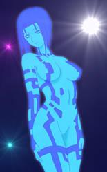 Cortana. by DCSPARTAN117artwork