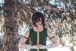 Korra cosplay - Earth Kingdom outfit by mo-s-art