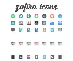 Zafiro icons 0.5 by zayronXIO