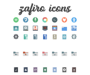 Zafiro icons 0.5 by zayronXIO